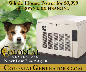 Colonial Generators 9-9-21